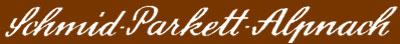 Schmid Parkett Alpnach Logo
